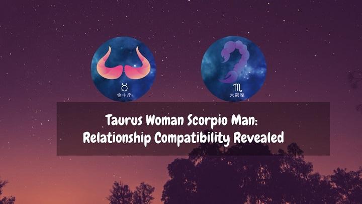 taurus woman scorpio man