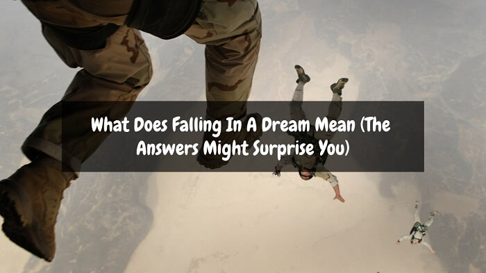 what does falling in a dream mean