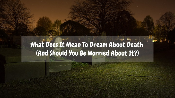 what does it mean to dream about death