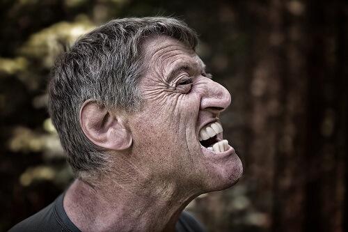 Suppressed Frustration or Anger