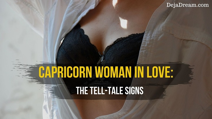 capricorn woman in love