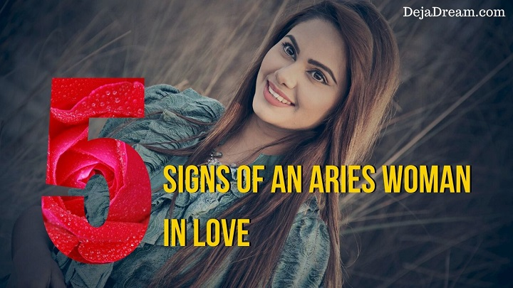 aries woman in love