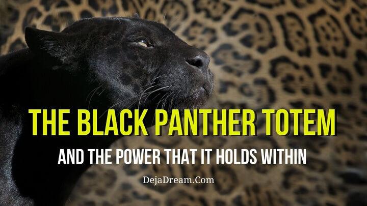 black panther totem