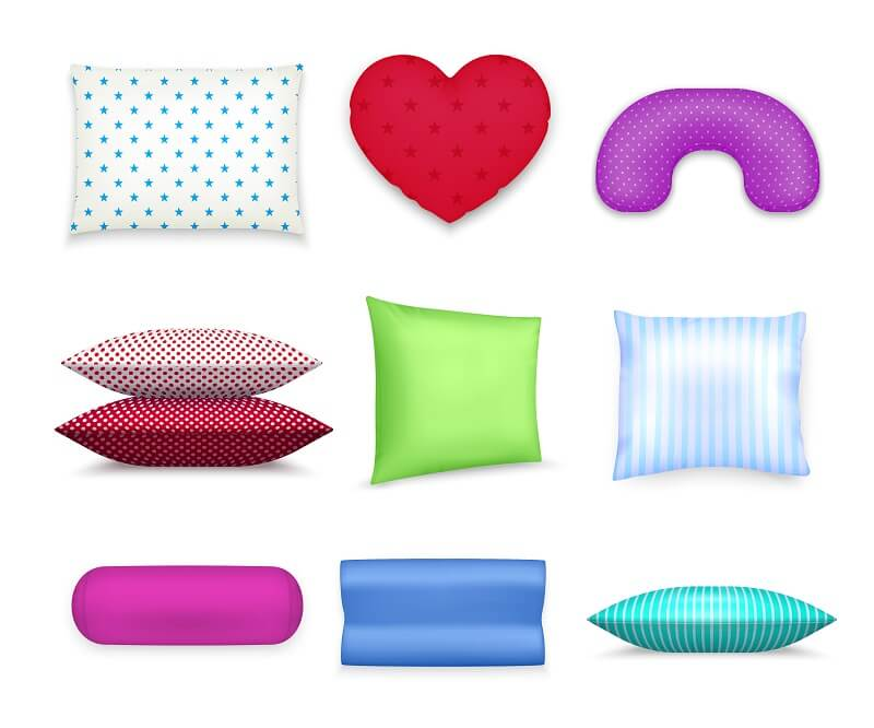 Best Pillows For Side Sleeper shape