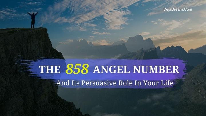 858 angel number