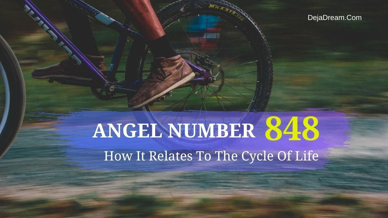 angel number 848