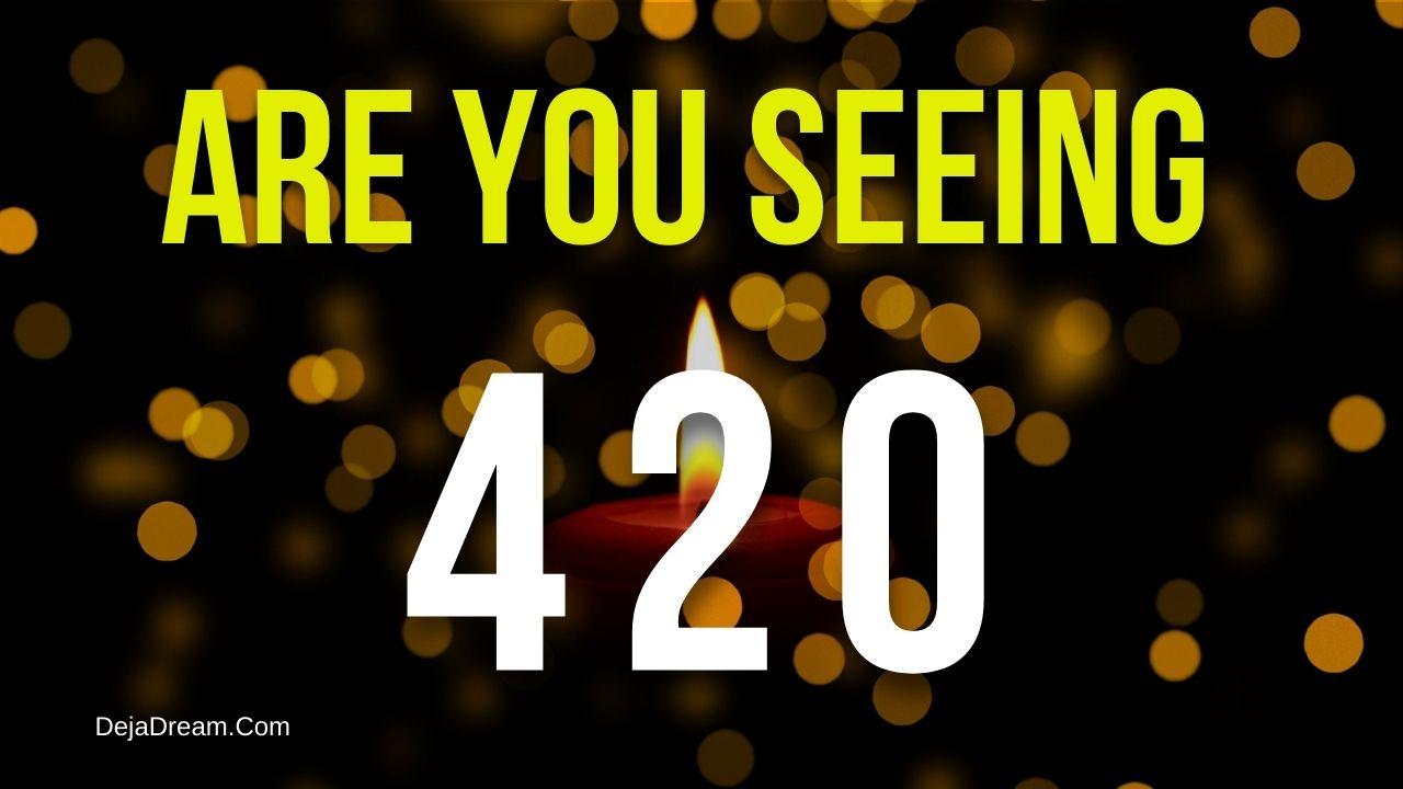 420 angel number