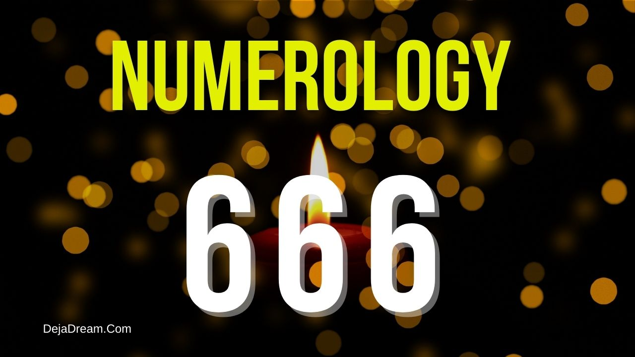 numerology 666 meaning.