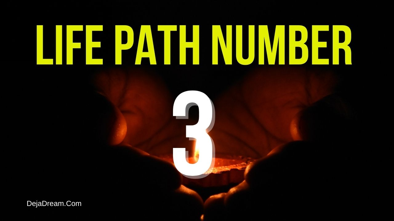 life path number 3