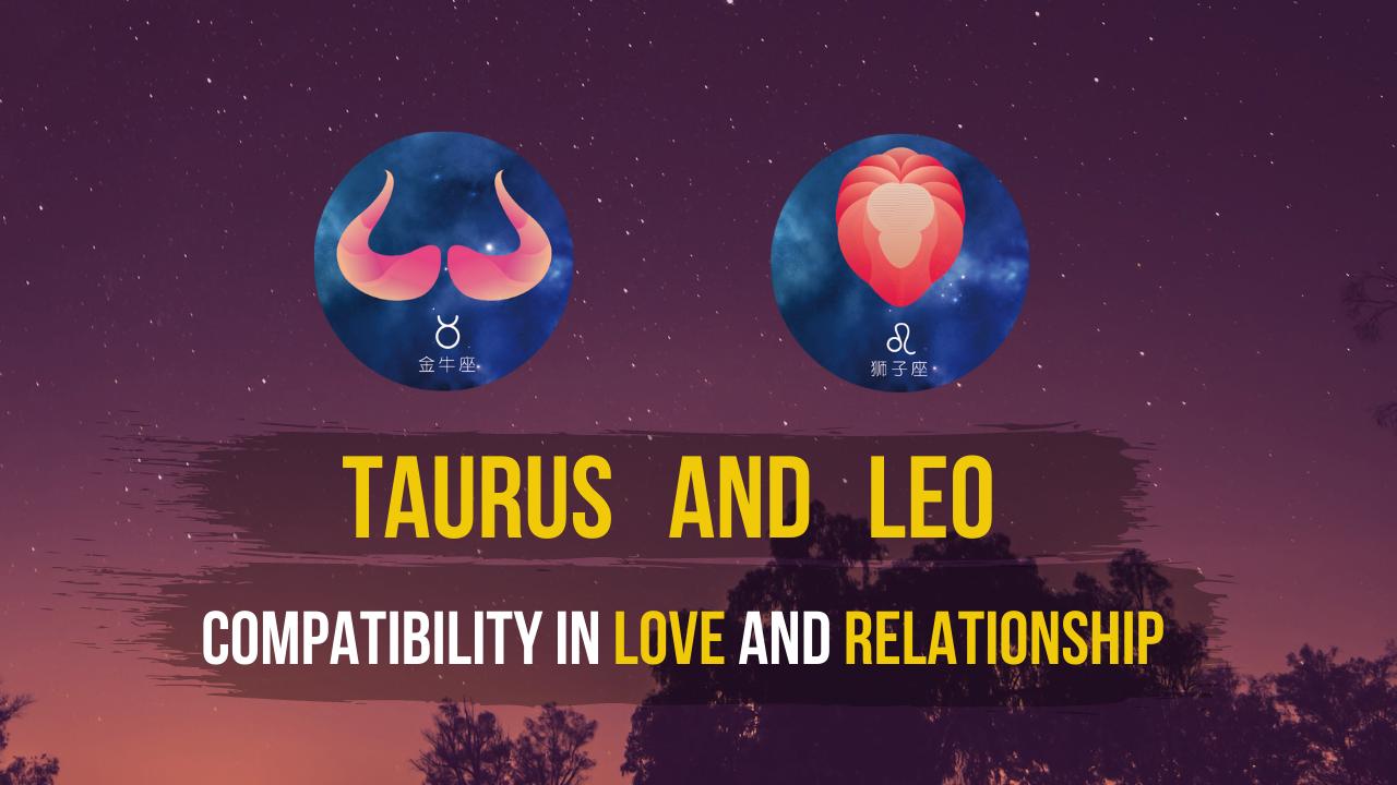 leo and taurus compatibility